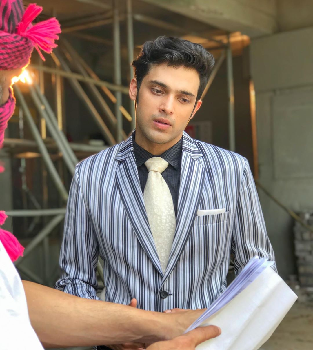 Dheeraj Dhoopar, Parth Samthaan, And Shaheer Sheikh's Striped Outfit Is A Wardrobe Must-have, See Pics 1