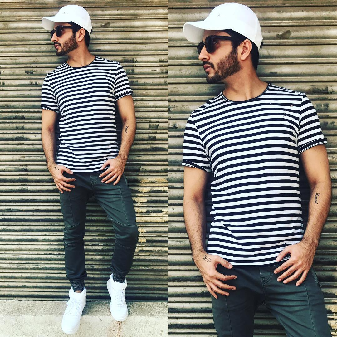 Dheeraj Dhoopar, Parth Samthaan, And Shaheer Sheikh's Striped Outfit Is A Wardrobe Must-have, See Pics