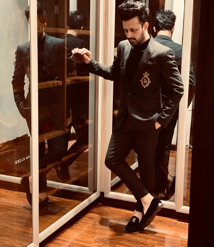 Five looks from Atif Aslam's style file 3