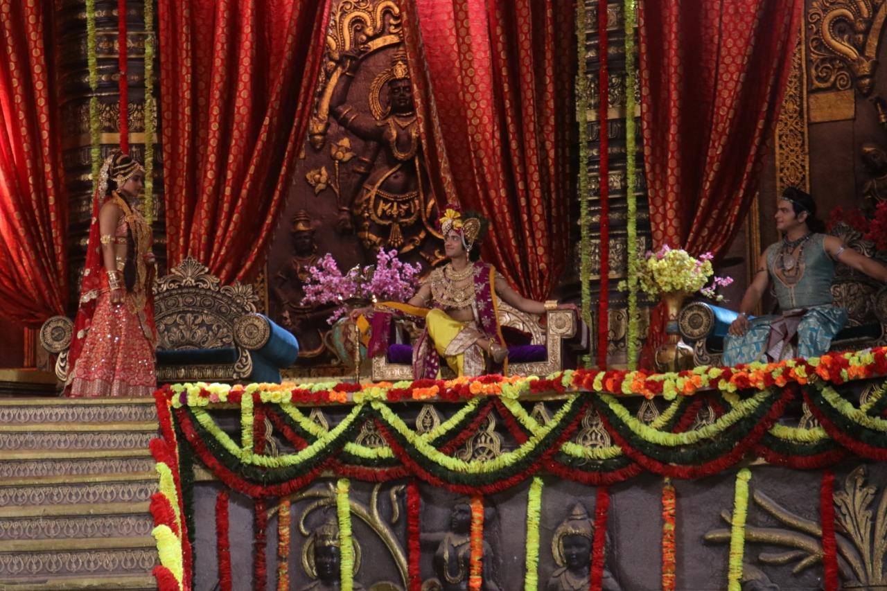 [In Pictures] Radhakrishn: 'Swayamvar' of Draupadi