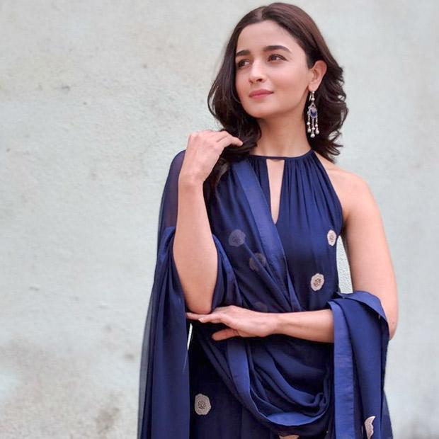 Katrina Kaif, Alia Bhatt And Bhumi Pednekar Are Shining In These Blue Outfits 4