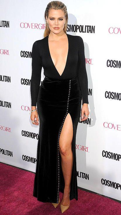 Kim Kardashian, Kourtney Kardashian, Khloe Kardashian: Who's HOTTEST In High Slit Gown? 3