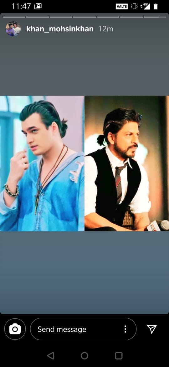 Mohsin Khan Is Inspired By Shah Rukh Khan, We Tell You Why 1