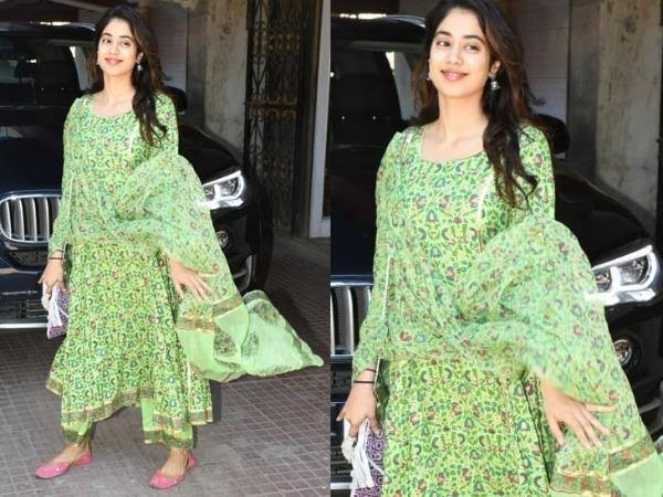 Ethic To Western: Janhvi Kapoor's Beautiful Looks Will Leave You Mesmerised; See Photos 1