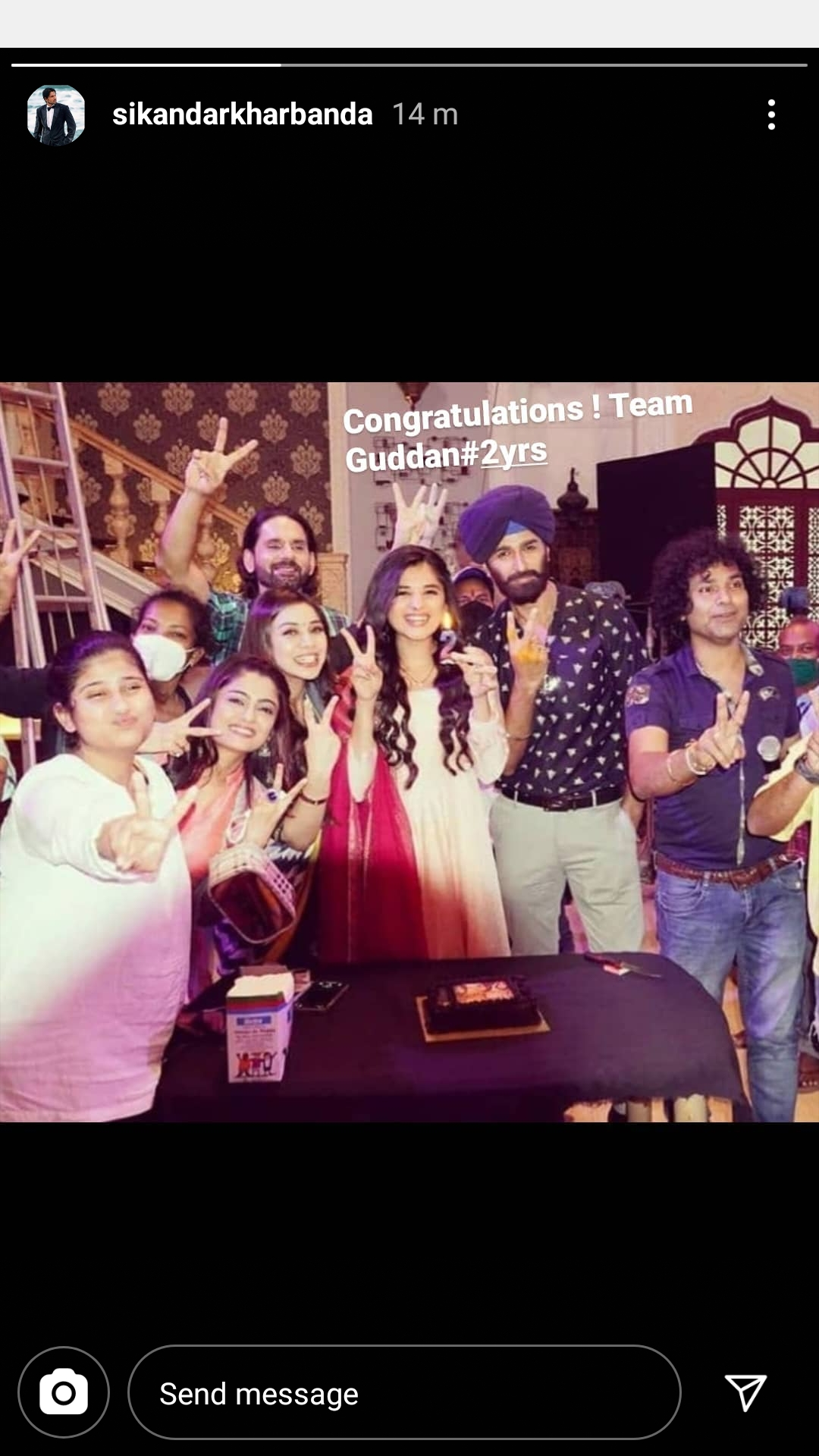Guddan Tumse Na Ho Payega team celebrates two years completion 1