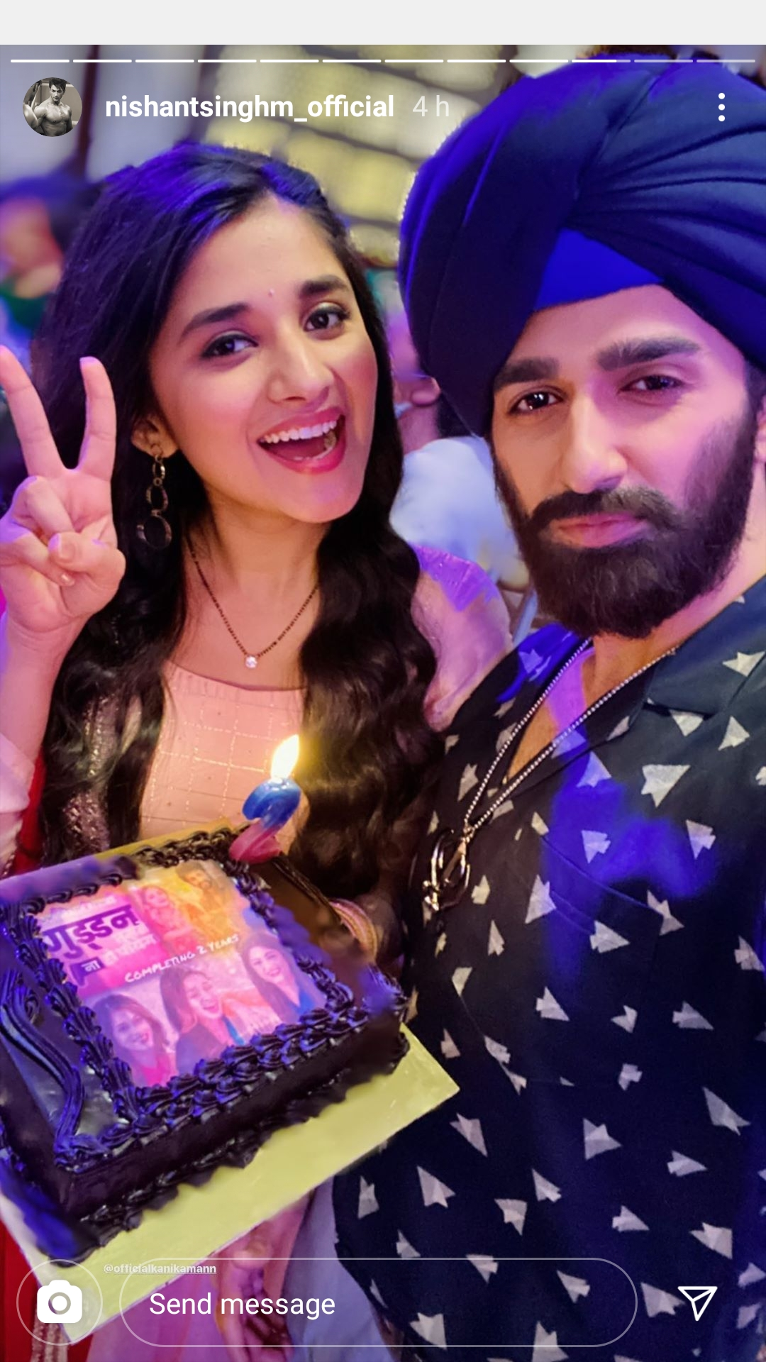 Guddan Tumse Na Ho Payega team celebrates two years completion 2