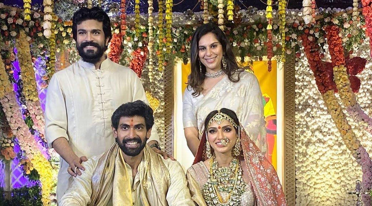IN PHOTOS: Rana Daggubati ties the knot with Miheeka Bajaj, family & friends shower them with love 2