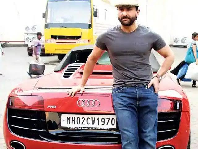 [IN PICS] Saif Ali Khan And His Love For Cars And Bikes