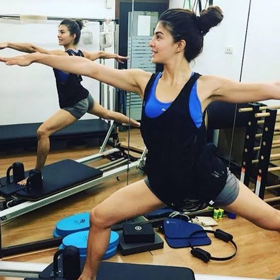 Jacqueline Fernandez, Priyanka Chopra And Tara Sutaria's Workout Session Instagram Posts 1