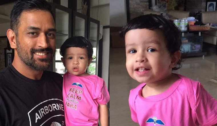 MS Dhoni Cute Moments With Daughter Ziva