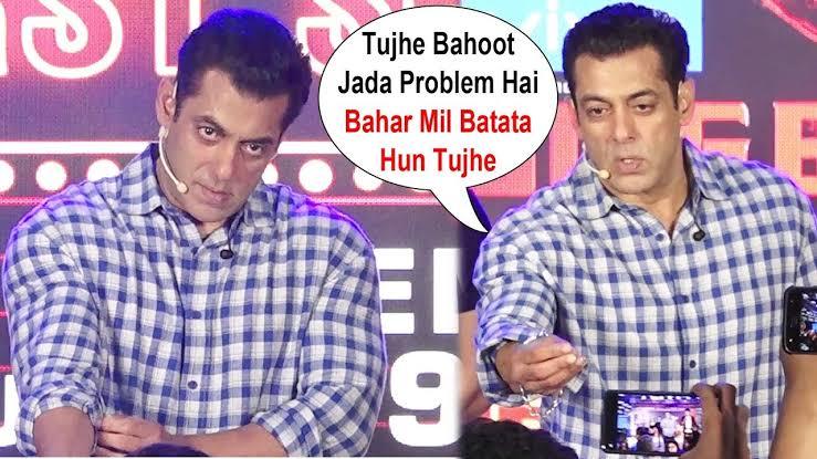 Salman Khan, Shah Rukh Khan, Aamir Khan: Media fights caught on camera