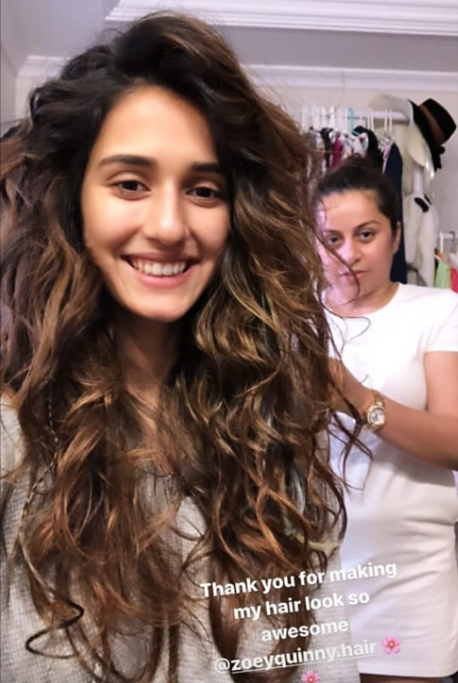 Stunning Disha Patani floors fans with her latest hairstyle picture