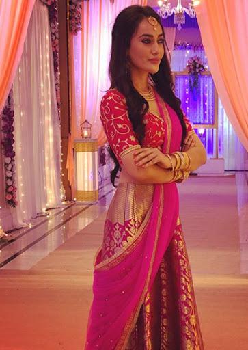 Surbhi Jyoti Vs Jennifer Winget Vs Karishma Tanna: Who Looks Royal And Regal In Banarsi Saree? 3