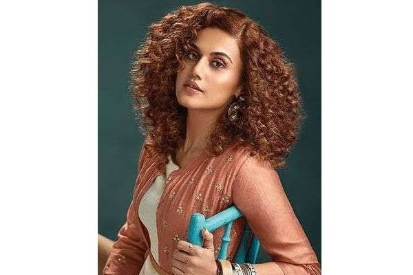 Taapsee Pannu Hairstyle: Take Hair Styling Tips For Curly Hair For Girls