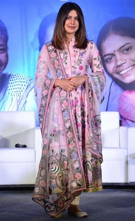 Take Inspiration From Anushka Sharma, Jacqueline Fernandez, Priyanka Chopra To Add Some New Shades To Your Wardrobe This Festival Season 1