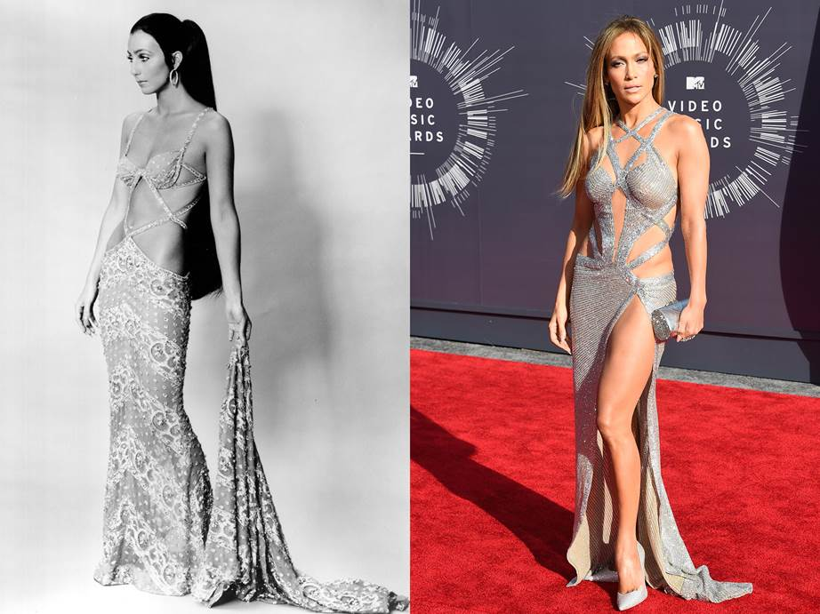 Times When Other Celebs Copied Cher's Outfits 4