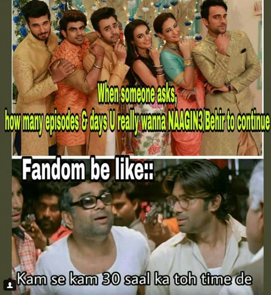 Top 5 Memes On Naagin Show That You Can't Forget In Your Life 1