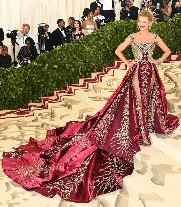 All the times when Blake Lively brought fairytale live on the red carpet 6