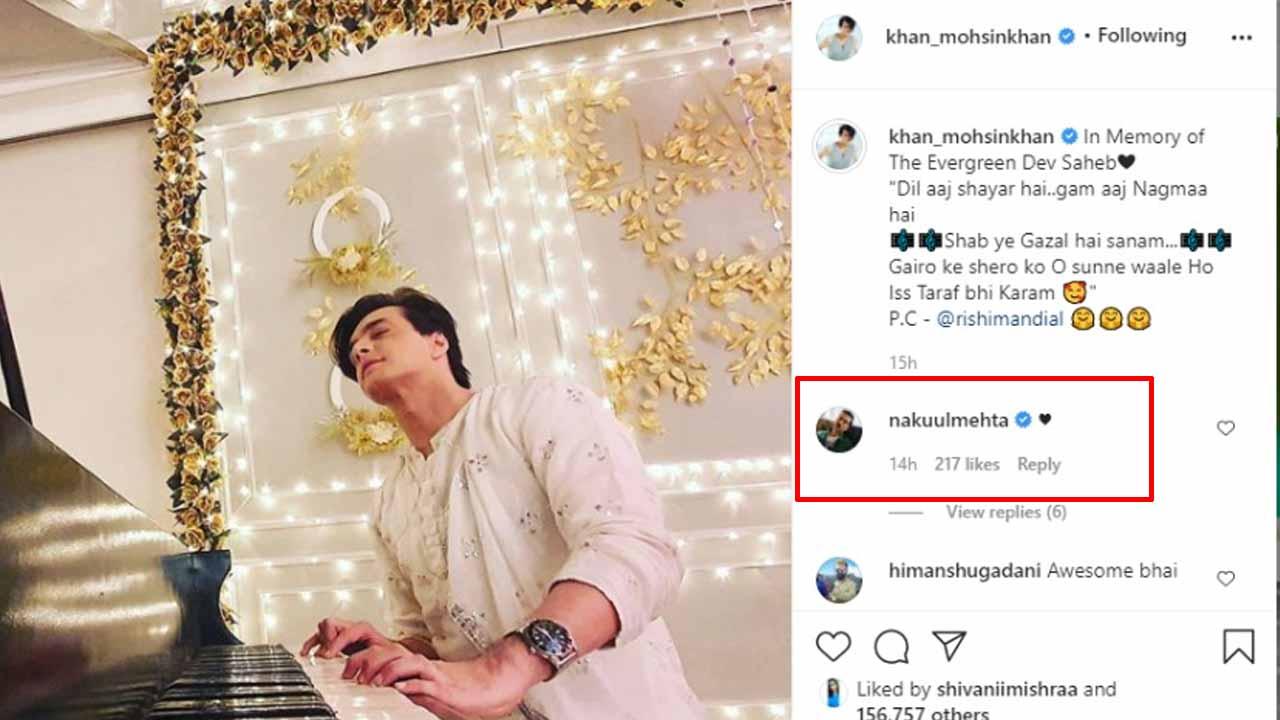 Nakuul Mehta and Mohsin Khan's bromance