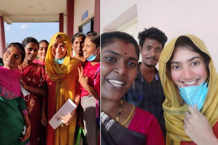 Sai Pallavi steps out for examination, delighted fans surround her for selfies