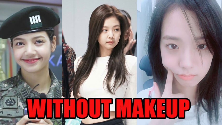 See How Blackpink Girls Lisa Rose Jennie And Jisoo Look Without Makeup Iwmbuzz