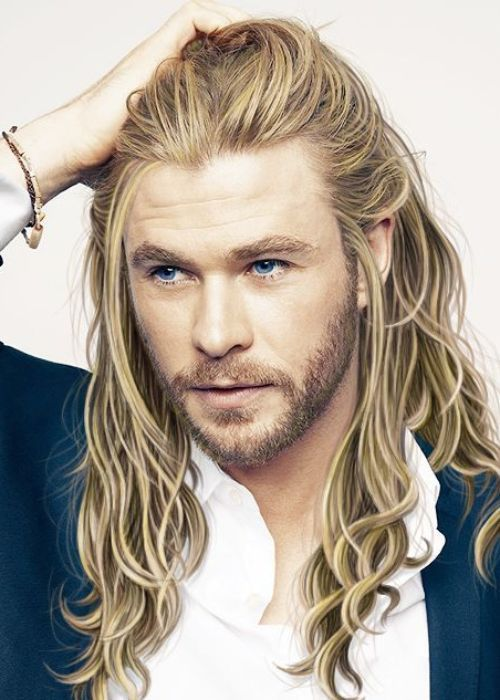 These Hairstyles From Chris Hemsworth Are Jaw-Dropping 1