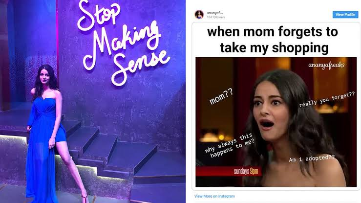 Top 3 memes on Ananya Panday which went viral on internet 1
