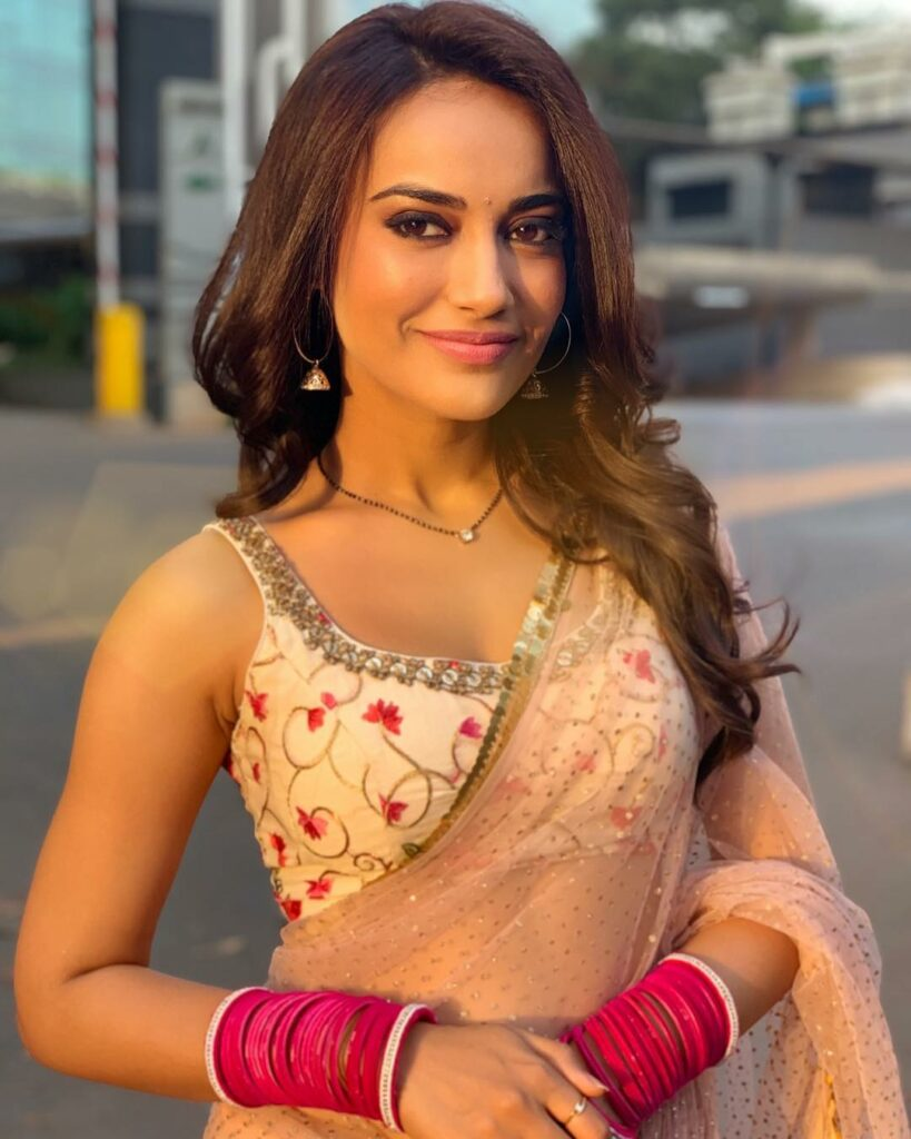 Unseen Photos Of Surbhi Jyoti From The Sets Of Naagin! 2