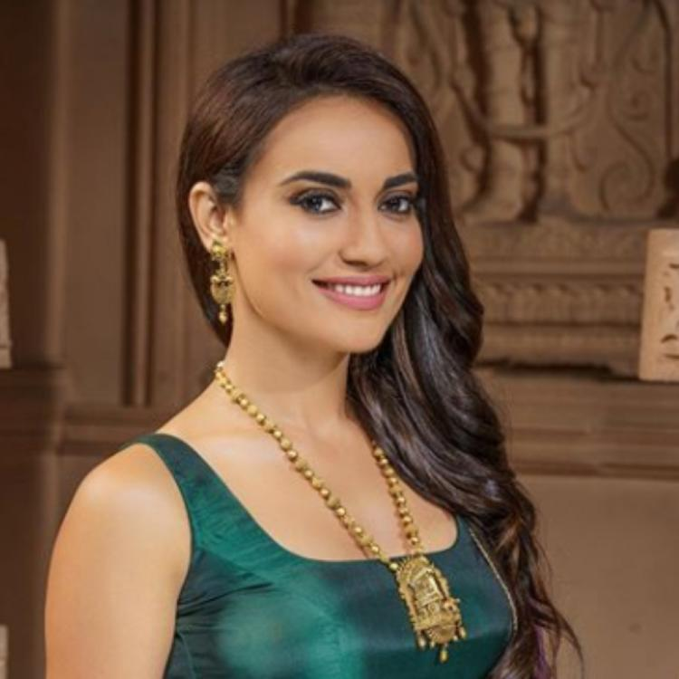 Unseen Photos Of Surbhi Jyoti From The Sets Of Naagin!