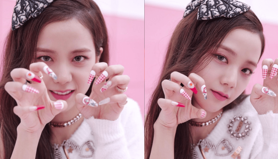 Be Simple Yet Beautiful: Steal These Elegant Nail Art Style From BLACKPINK's Jisoo 1