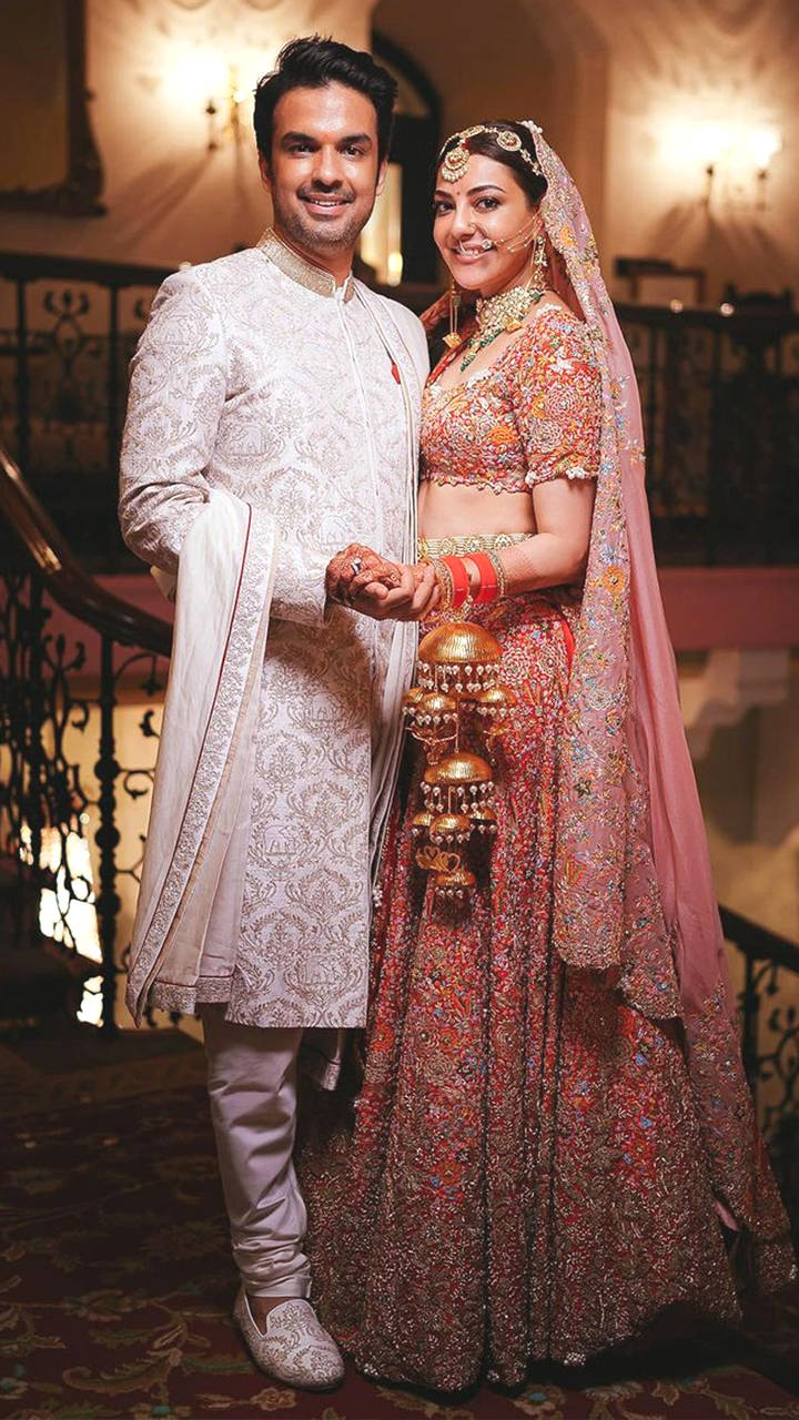 CONGRATULATIONS: Kajal Aggarwal and Gautam Kitchlu are now married, see pictures 1