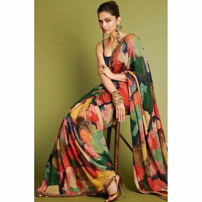 From Banarasi Saree To Designer Saree: How Aishwarya Rai Bachchan, Kareena Kapoor, And Deepika Padukone look extremely stylish for festive eve 7