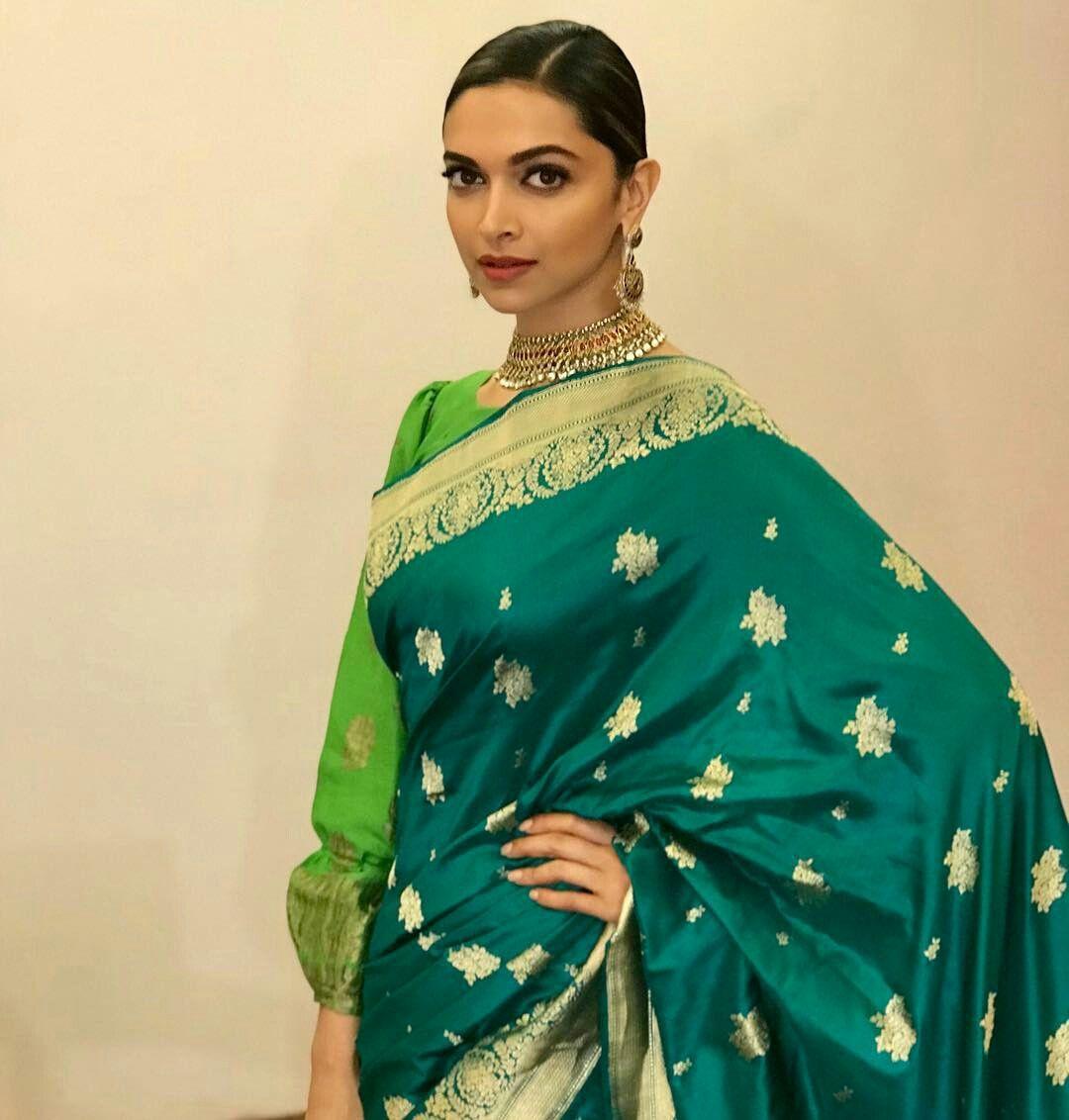 From Banarasi Saree To Designer Saree: How Aishwarya Rai Bachchan, Kareena Kapoor, And Deepika Padukone look extremely stylish for festive eve 8