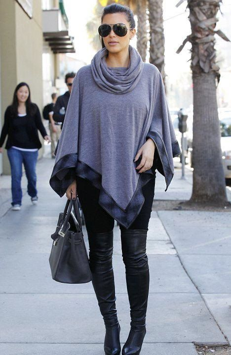 Kim Kardashian Showing The Sassiest Looks Of Winters In THESE Pics! 4