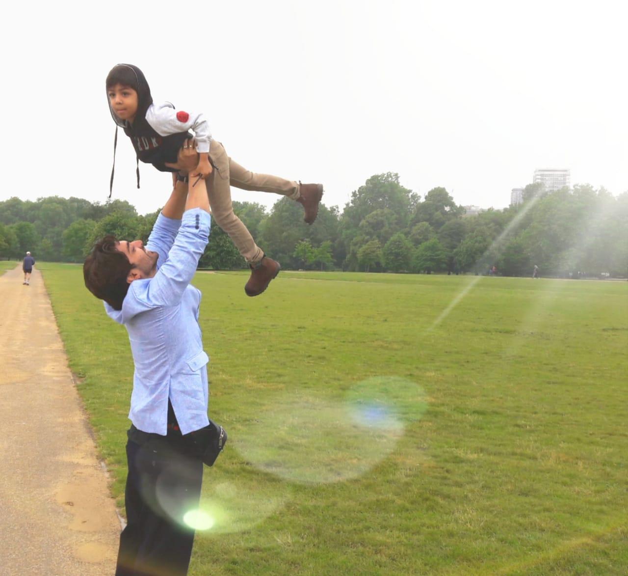 Nandita Puri's special birthday gift for Ram Kamal Mukherjee's son Rian 2