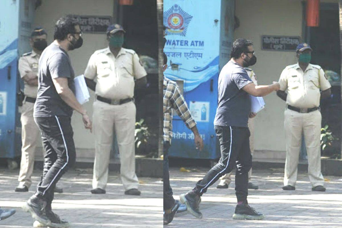 Payal Ghosh #MeToo controversy: Anurag Kashyap SPOTTED at Versova Police Station for questioning