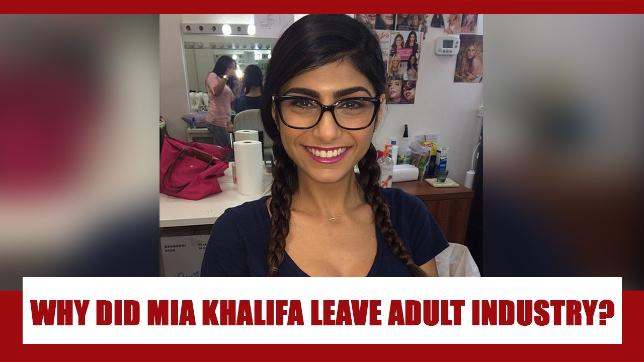 Why did Mia Khalifa leave the adult film industry? | IWMBuzz
