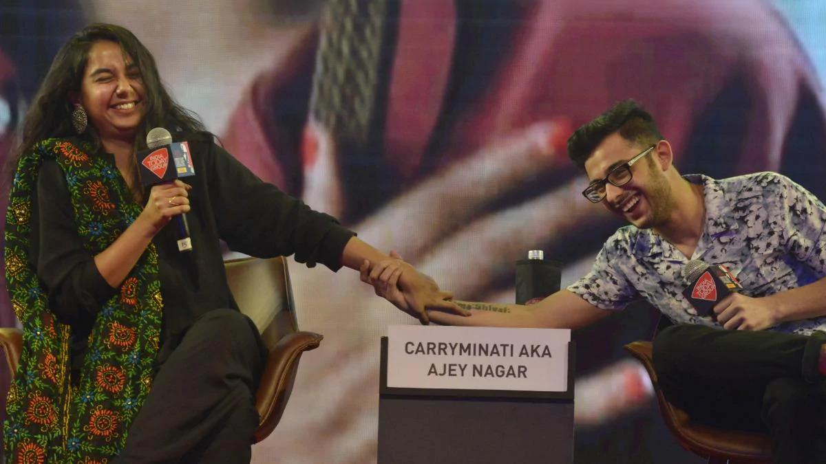 CarryMinati And Prajakta Koli's Best Moments Together 1