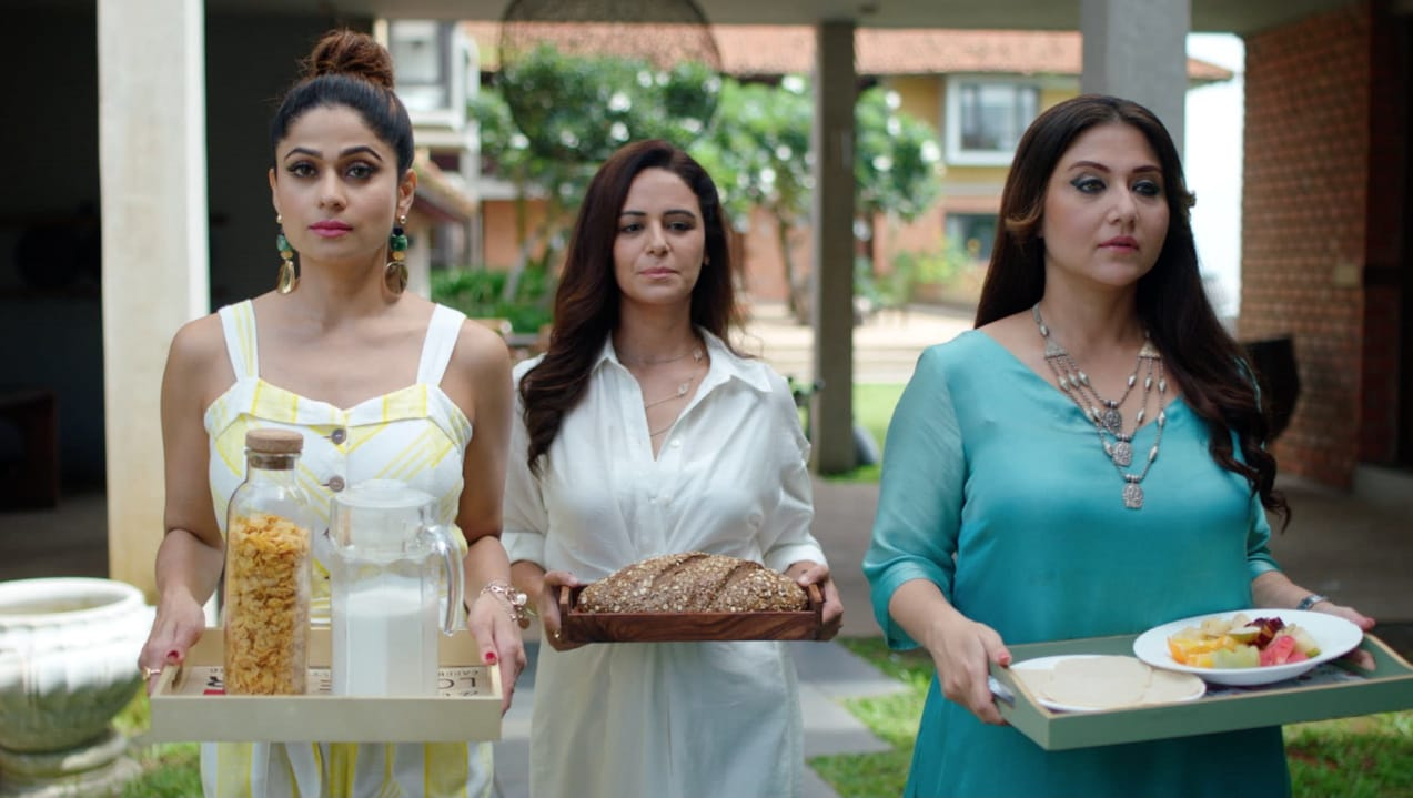 Catch Mona Singh, Shamita Shetty & Swastika Mukherjee set their own rules as powerful widows as they fake mourn the death of their husbands and take over the world 1
