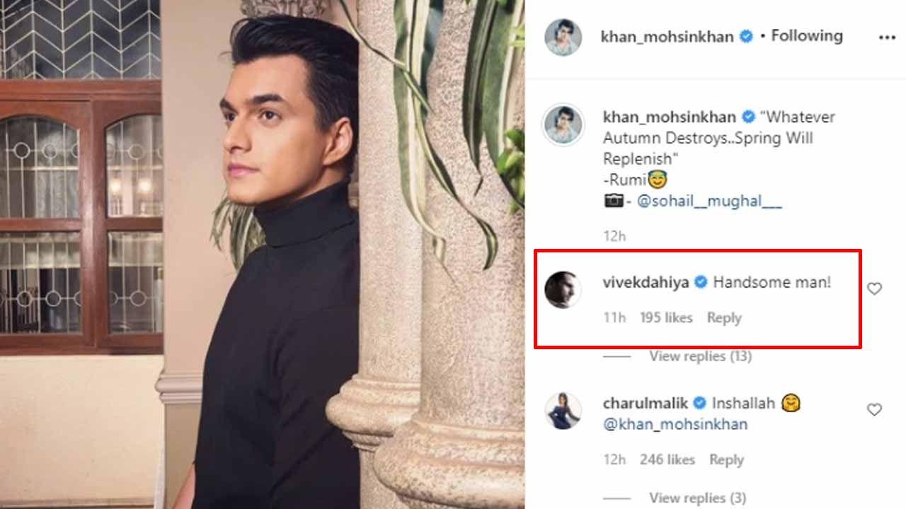 Mohsin Khan looks like a prince in latest pictures, Vivek Dahiya comments 'handsome man'