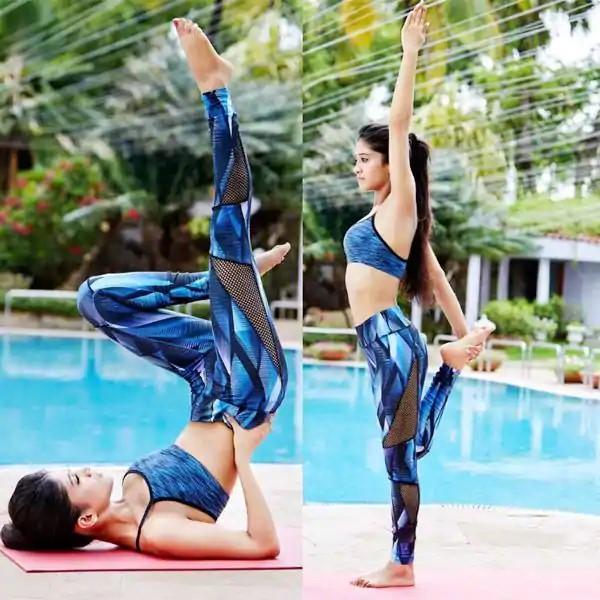 See Pics! Erica Fernandes, Shivangi Joshi, Surbhi Chandna Doing Yoga Pics Go Viral