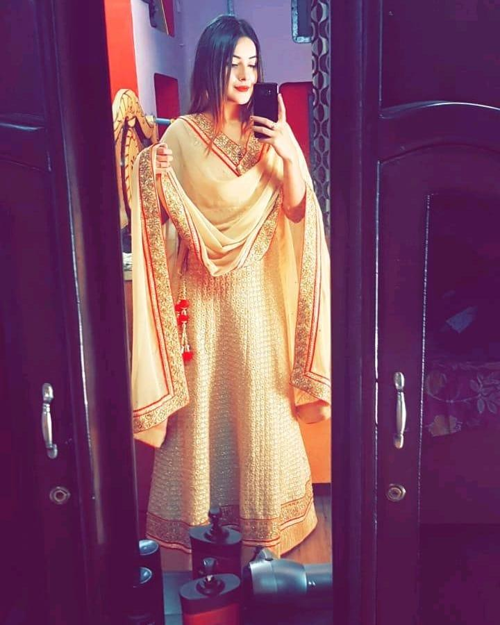 Shehnaaz Gill's Mirror Selfies Is An Inspiration For Ultimate Go-To Instagram Pics 1