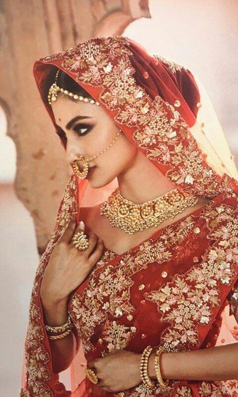 Shraddha Arya, Mouni Roy, And Kaveri Priyam's Bridal Outfit Goals 1
