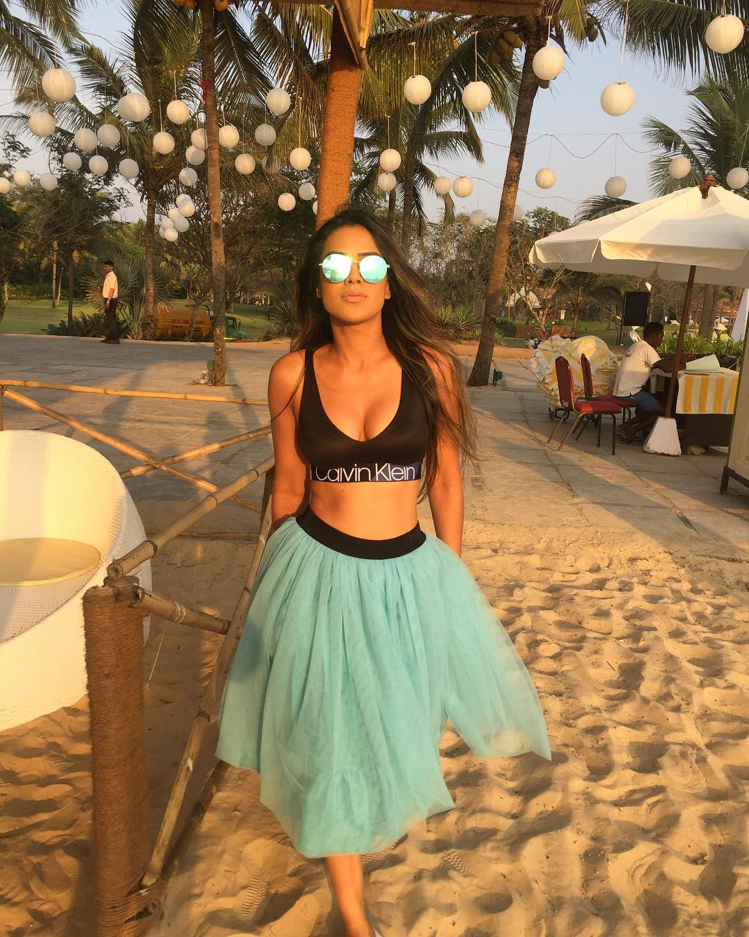 Style Your Sports Bra For A Stunning Chic Look Like Hina Khan, Erica Fernandes, And Nia Sharma 3
