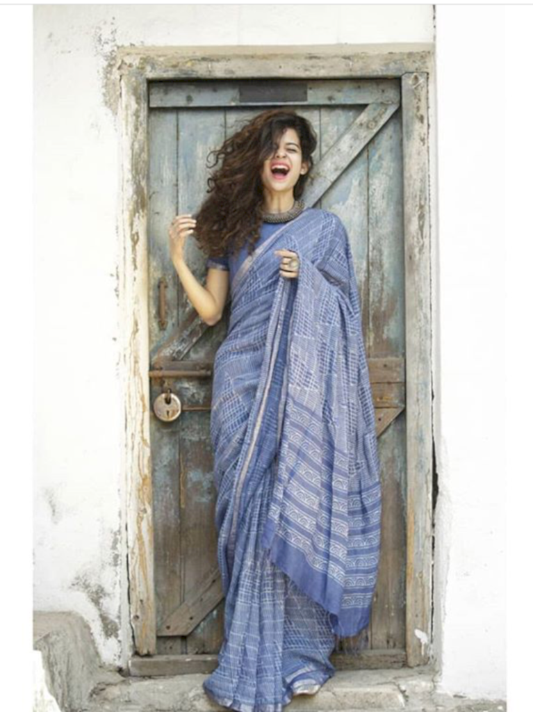 Top 10 Saree Looks Of Mithila Palkar 5