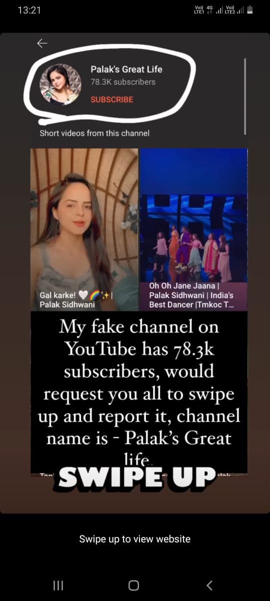 Who is trying to cheat Taarak Mehta Ka Ooltah Chashmah actress Palak Sindhwani?