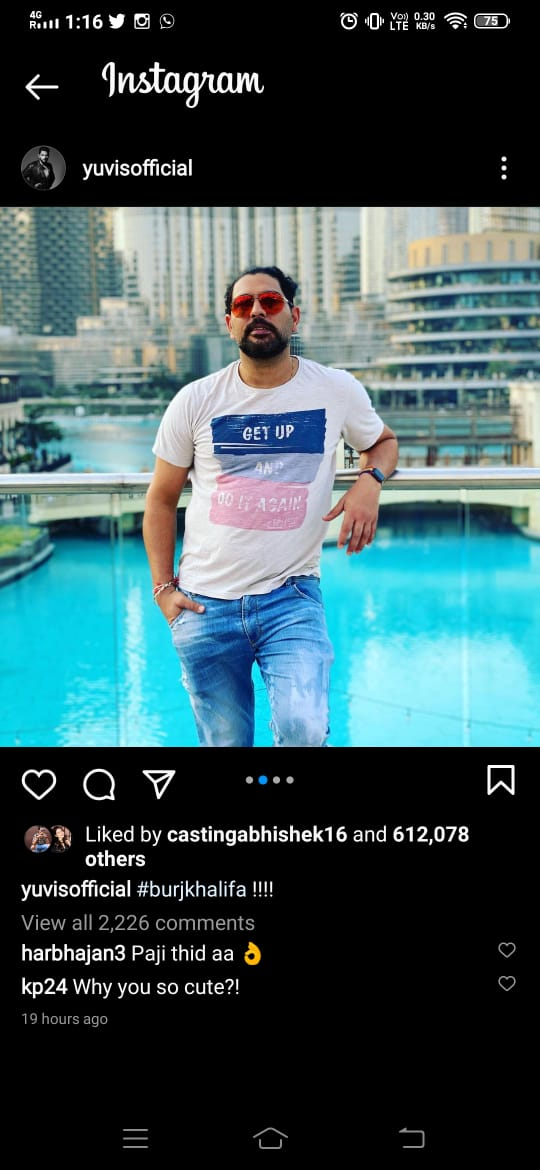 Yuvraj Singh shares his 'Burf Khalifa' moment, Kevin Pietersen leaves cheeky reply