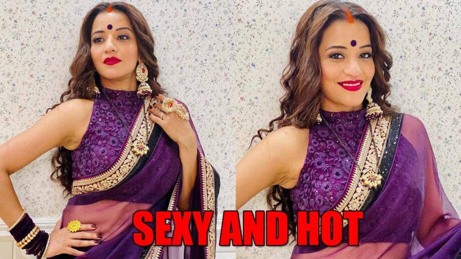 Hotness Alert Monalisa S Latest Sexy And Hot Saree Look Iwmbuzz