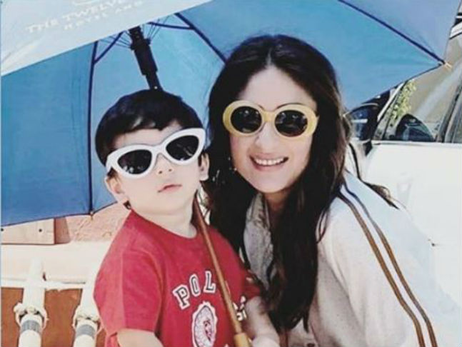 Cutest Unseen Private Pictures of Taimur Ali Khan 4