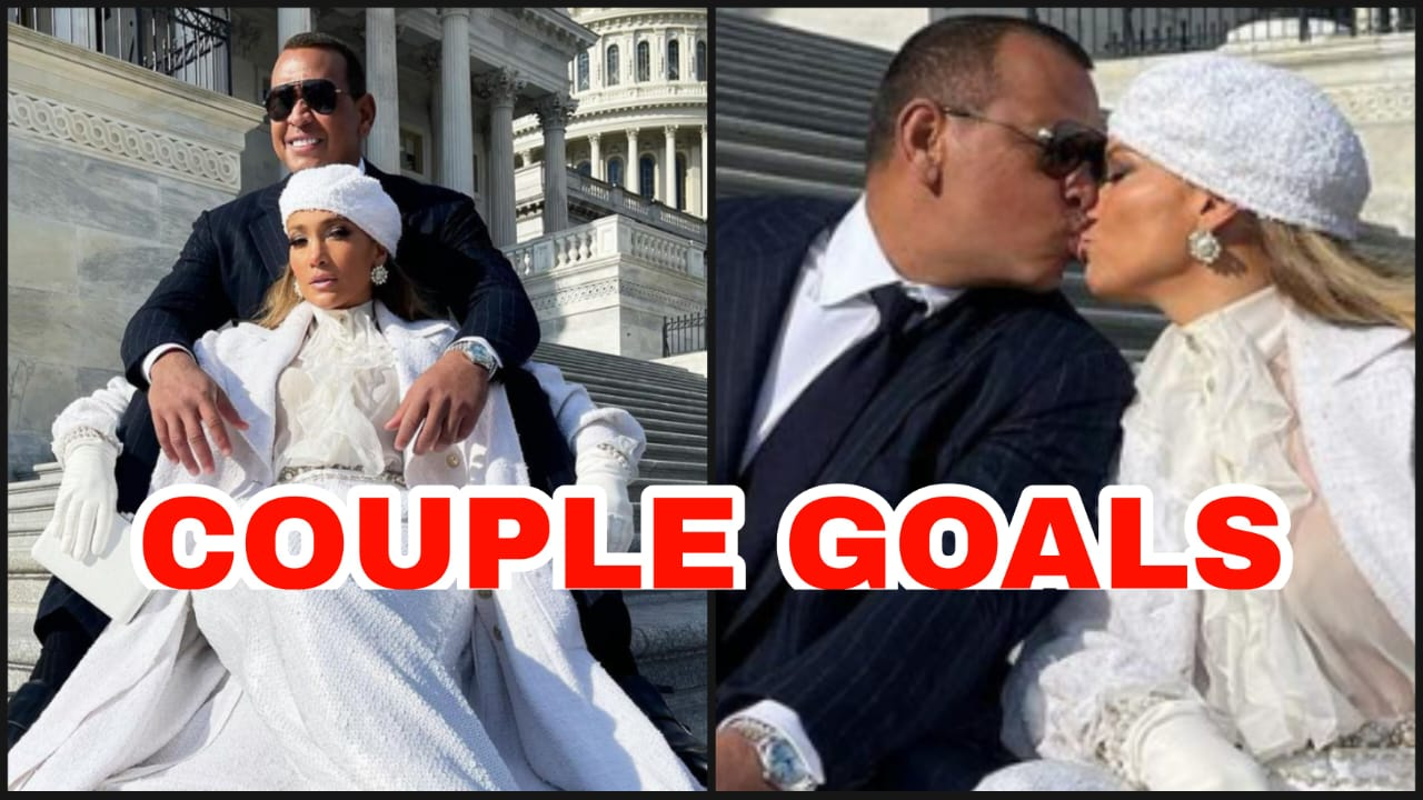 US Capitol Inauguration 2021: Jennifer Lopez and Alex ...
